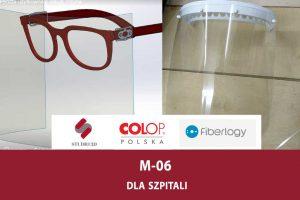 M-06 dla szpitali – pierwsza partia przyłbic już przekazana!