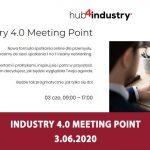 Industry 4.0 Meeting Point – nowa formuła spotkania online dla przemysłu – 3.06.2020