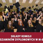 Składy komisji egzaminów dyplomowych