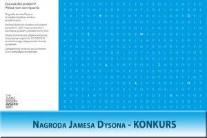 KONKURS – Nagroda Jamesa Dysona