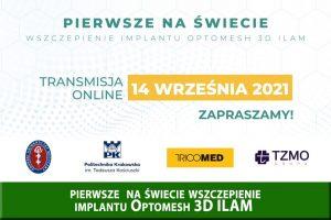 Polski implant przepuklinowy pomoże pacjentom i lekarzom
