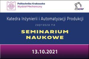 Seminarium naukowe – Respirator jako programowalny dystrybutor gazów